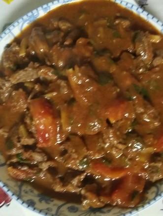番茄炖牛肉的做法