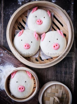 猪猪流沙包的做法
