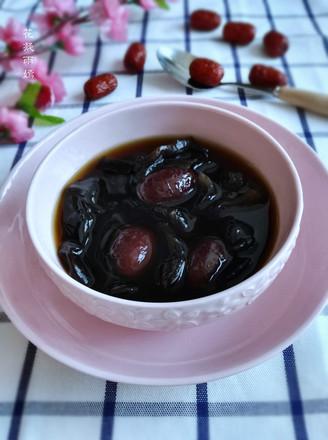 木耳红枣汤的做法