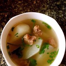 蘿卜牛肉湯