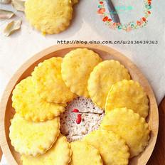 水果丝瓜怎么做好吃无油南瓜软饼干的做法
