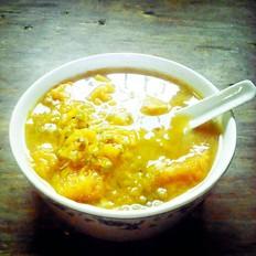 陈醋鸡爪怎么做南瓜绿豆羹的做法