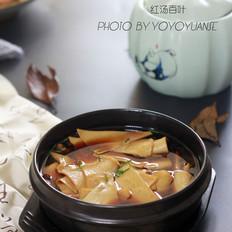 凉拌土豆丝怎么做的脆红汤百叶的做法