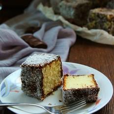 拉明顿蛋糕