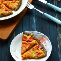 蔬菜薄底披萨