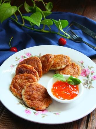 香煎龙利鱼饼的做法