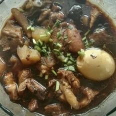 土豆香菇蒸鸡腿