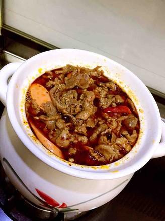 牛肉粉丝砂锅煲的做法