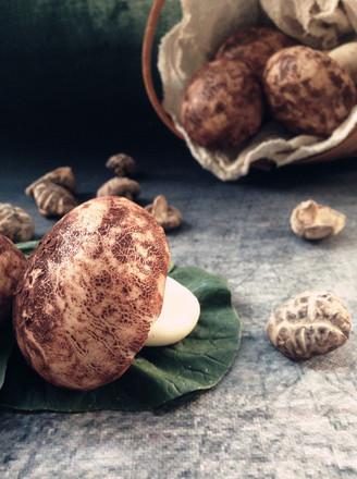 仿真蘑菇包的做法