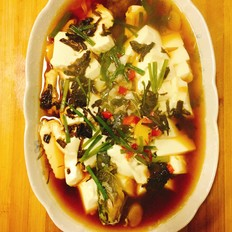 黃刺魚燉豆腐