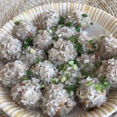 珍珠蝦肉丸
