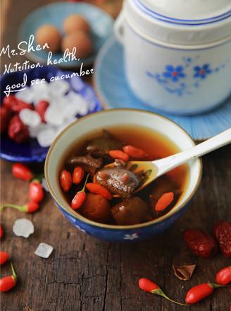 红枣冰糖炖海参的做法