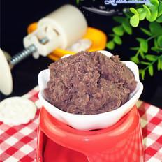 裱花嘴怎么做红豆馅的做法