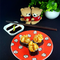 味付海螺寿司