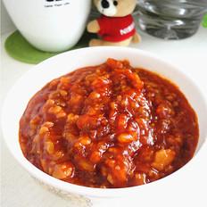 秋梨汤怎么做自制炸酱的做法