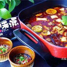 红果家菜谱之柠檬香辣鸡火锅
