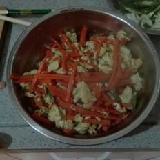胡萝卜炒蛋