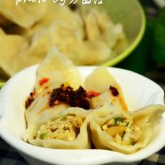 米酒汤怎么做松仁咸蛋黄饺子的做法