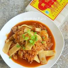韩式酸菜炒年糕