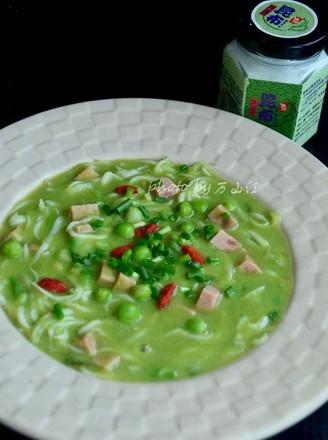 豌豆银鱼汤的做法