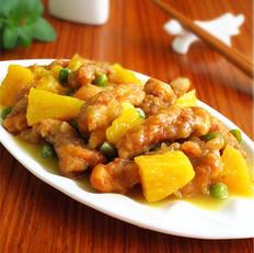 菠蘿熘肉段