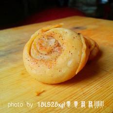 自制葱油煎饼