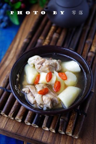 山药猪骨汤的做法