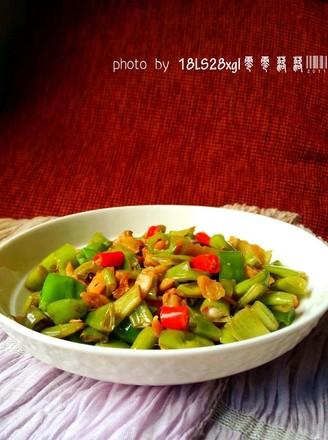 萝卜干炒四季豆的做法