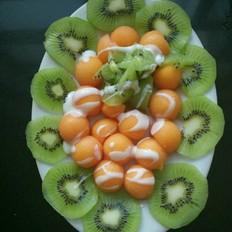 酸奶拌水果