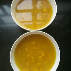 南瓜荞麦粥的做法