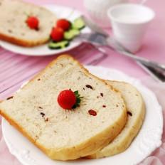 贡丸炒什么好吃蔓越莓面包的做法