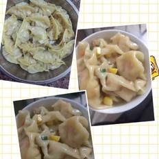 玉米胡萝卜饺子