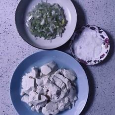 青葱拌豆腐