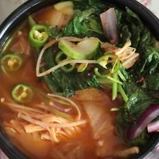 韓式泡菜湯