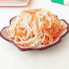 金針菇拌胡蘿卜