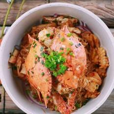 腌咸蟹怎么做好吃香辣蟹的做法