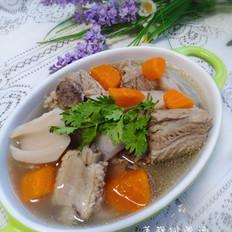 鲜香茹怎么做好吃莲藕排骨汤的做法