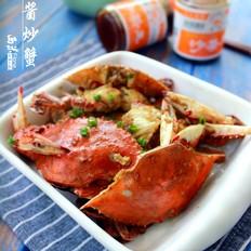 沙茶酱炒蟹