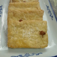 腌炸豆腐——拌粥小菜