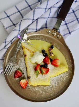 草莓可丽饼的做法