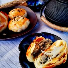 糖醋苞菜怎么做好吃黑芝麻椒盐酥饼的做法