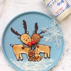 圣诞麋鹿原味松饼