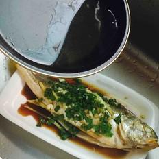 干豌豆怎么吃好吃葱油黄鱼的做法