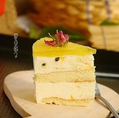 怎么做酸汤水饺百香果慕斯蛋糕的做法