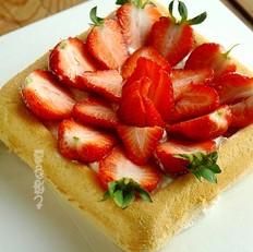 怎么做发糕又软又好吃草莓蛋糕的做法
