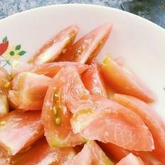 凉拌草莓西红柿