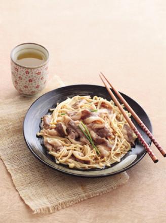 日式金针菇肥牛的做法