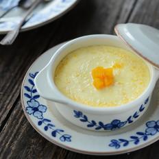 南瓜泥牛奶蒸蛋