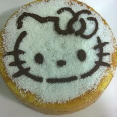 零食炒米怎么做KITTY猫海绵蛋糕的做法