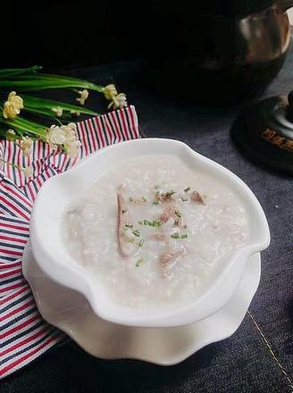 砂锅猪肝肉末粥的做法
